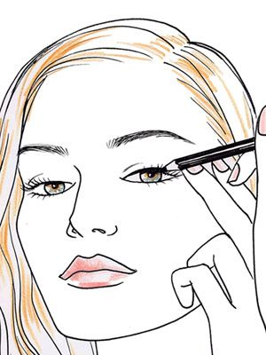 Five tricks to ~~ line your eyes like a pro. This is actually really good advice.