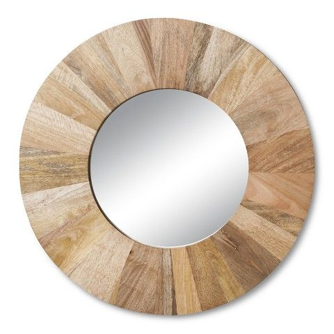 Threshold™ Wooden Circle Wall Mirror-Target - 22 Best Mirrors Images On Pinterest