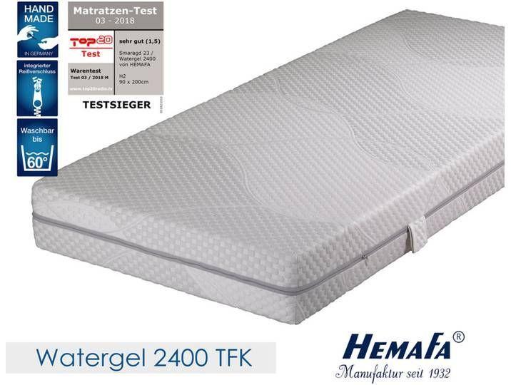 Hemafa Watergel 2400 7 Zonen Taschenfederkernmatratze 100x200 Cm Me Hemafa Watergel 2400 7 Zonen Taschenfederke In 2020 Matratze Matratze 90x200 Und Matratze 120x200