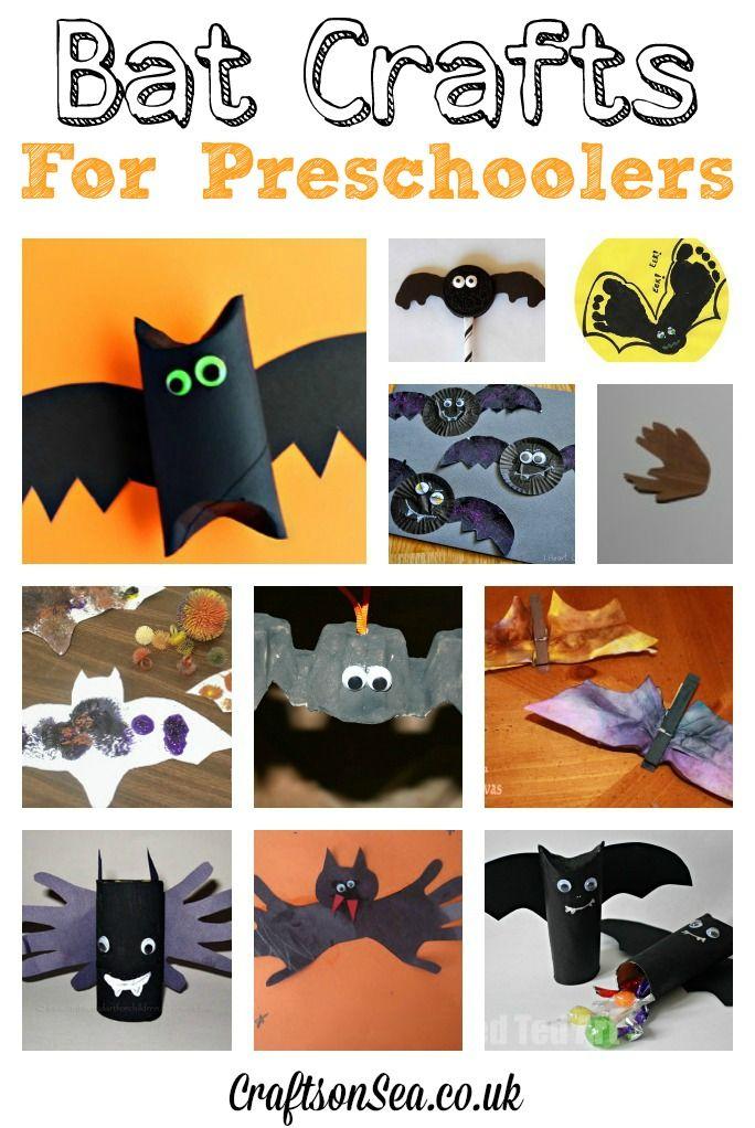 bat crafts for preschoolers