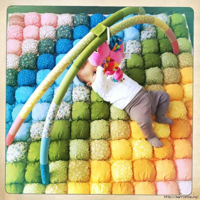 Замечательный мастер-класс по пошиву одеяла и подушки - Разное для малышей - Вязание для детей -МАСТЕР-КЛАССЫ ПО РУКОДЕЛИЮ- Страна рукоделия