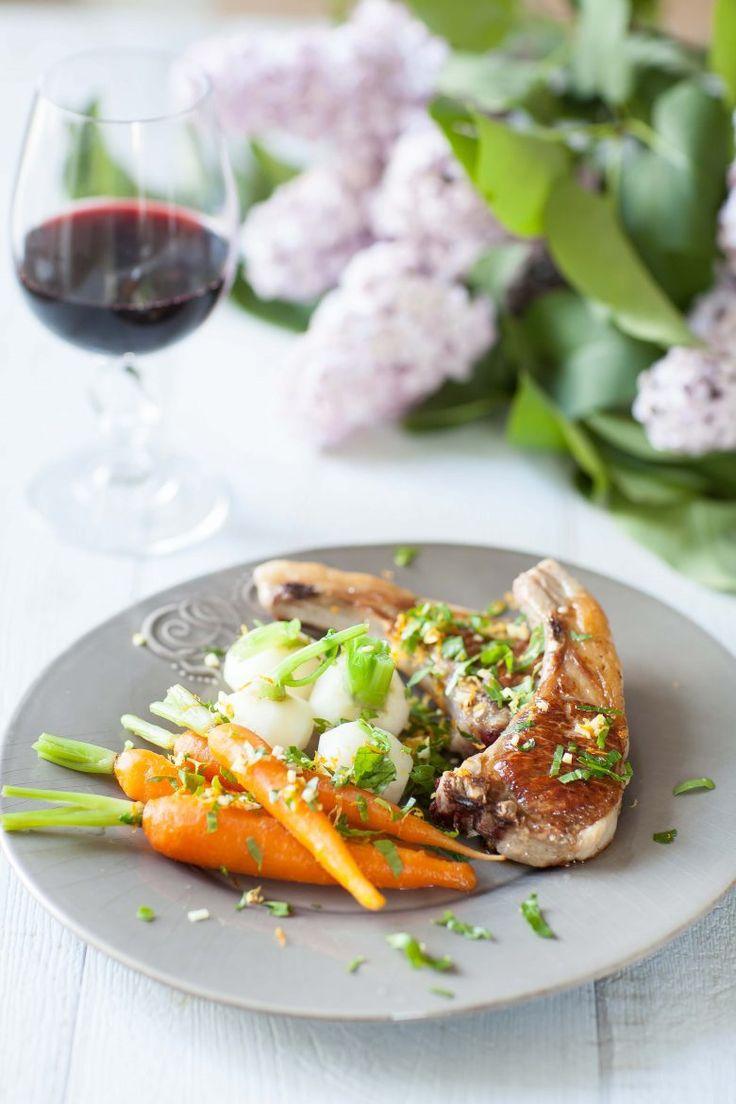 Côtes d'agneau à la gremolata | Recette | Plat, Plat simple, Idée recette