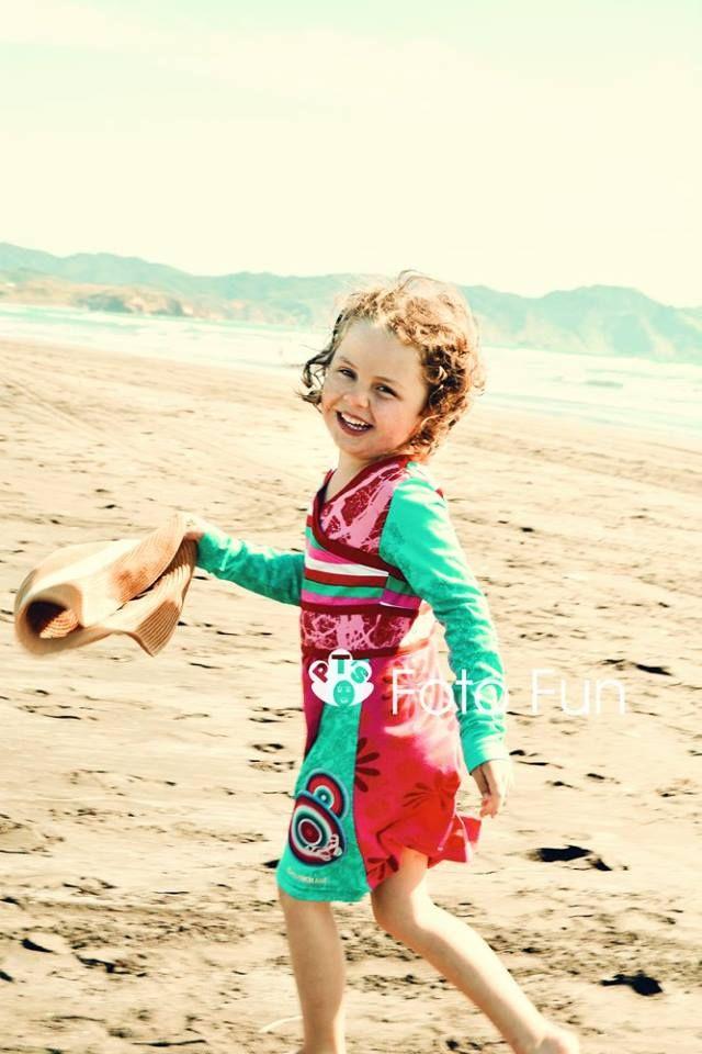 Paula in Kawhia beach
