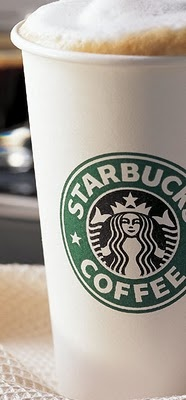 Starbucks Skinny Vanilla Latte! Good Morning!