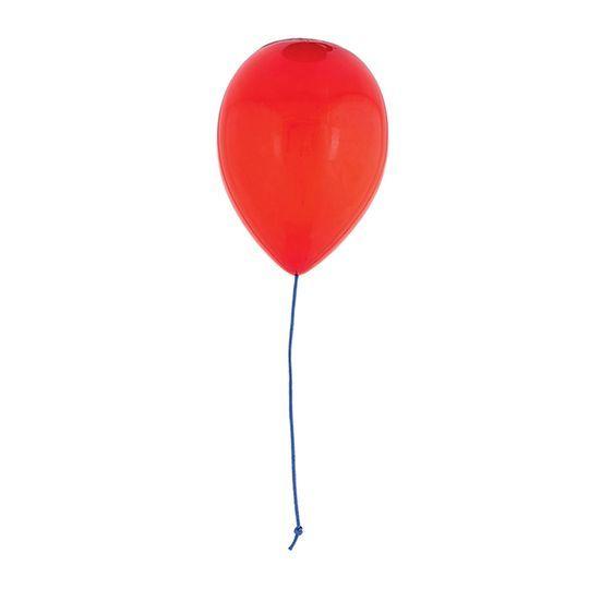 Lampada Da Soffitto Balon In Metallo E Vetro Opalino Rosso Ø 25x30 cm    59,99 € 163,00 €* di listino