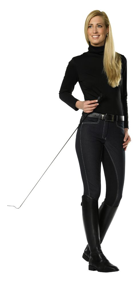 Denim effect full seat breeches « Riding breeches « FASHION « Products « PFIFF Reitsport - Bahnhofstraße 61a - D-59872 Meschede-Freienohl