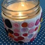 Moederdag knutselen, maak een vrolijk lichtje van klei