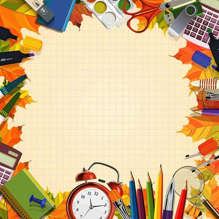 Для оформления, открытка школа вектор