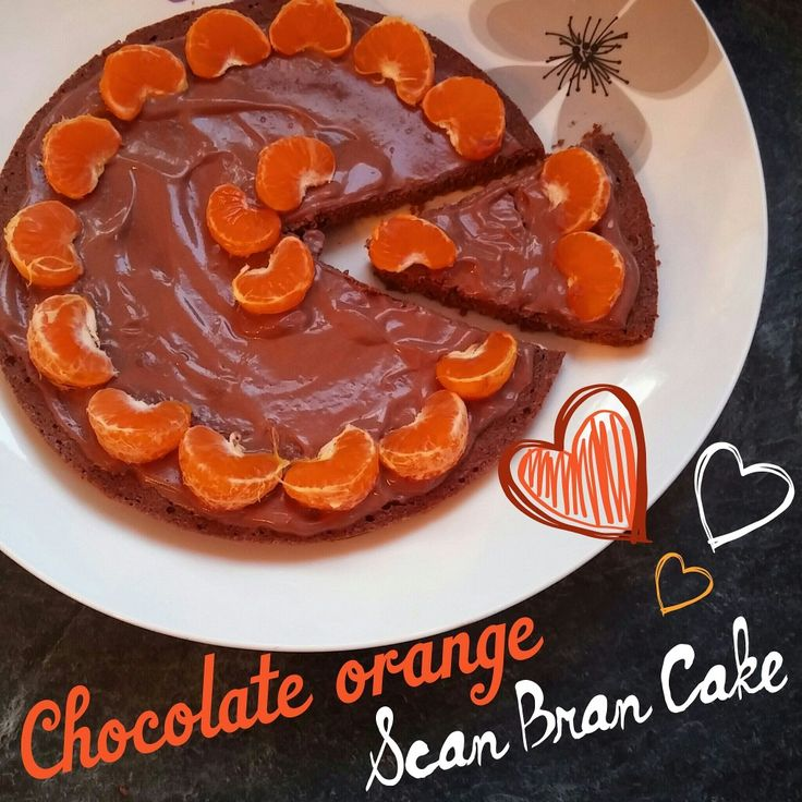 Chocolate Orange Scan Bran Cake                              …