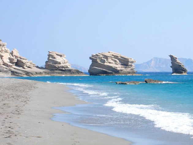 Triopetra beach , South coast #rethymno #greece #crete #summer_in_crete #beach