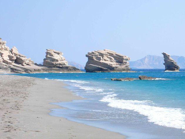 Triopetra beach , South coast #rethymno #greece #crete #summer_in_crete #beach