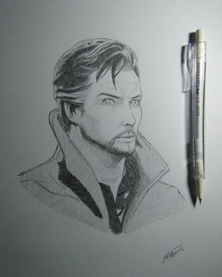 Dr. Strange Sketch Sorry, just a trying hard self proclaimed artist. Please follow me on instagram if you don't mind  @lxsndrart thanks