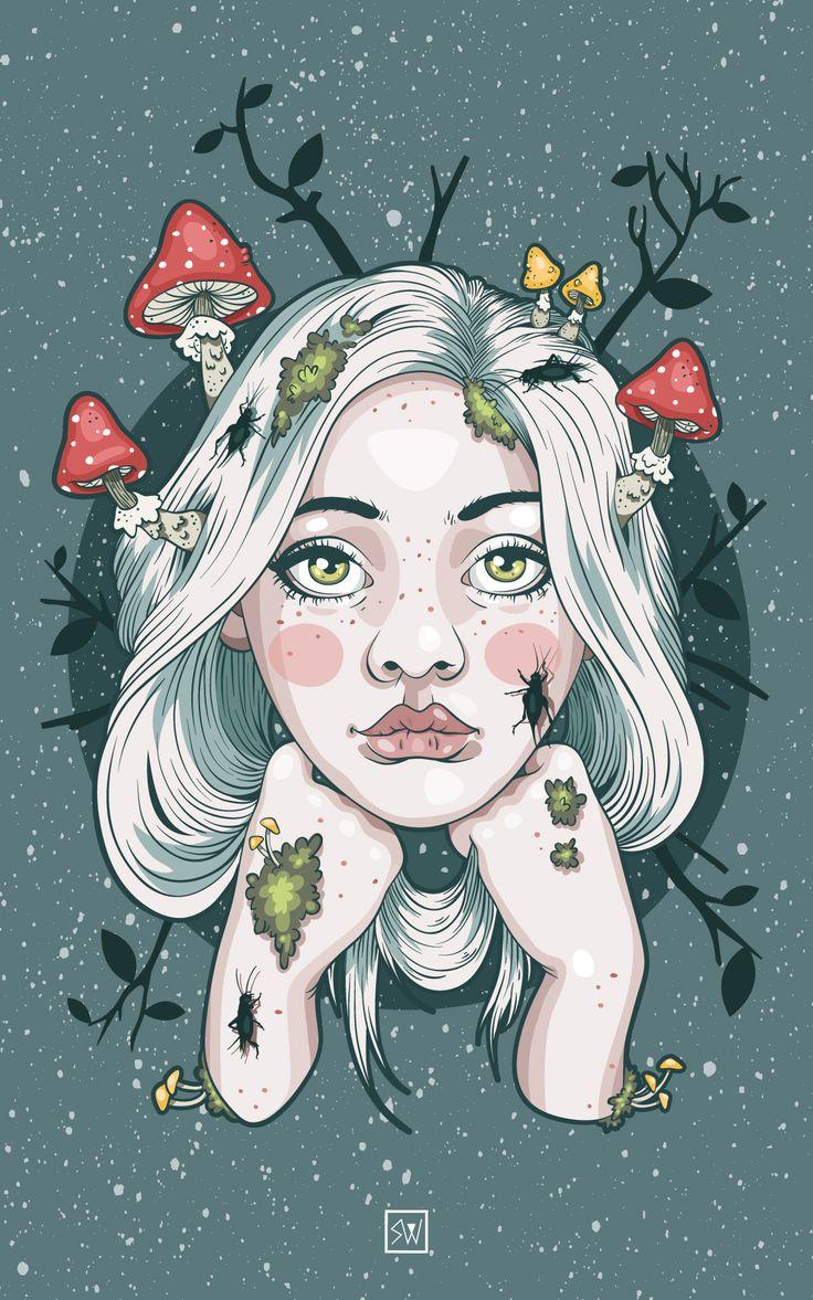 Gea. Diosa Tierra. – Silvia Watercolor