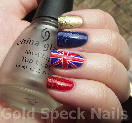 87 best nails images on pinterest make up nail designs and design base colours barry m gold foil rimmel tip whitener barry m bright red george boom i also used a red nail art pen and blue and white acrylic prinsesfo Images
