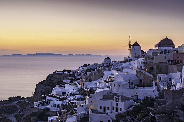 Sunset in Oia by Nicolas Mitkanis on 500px