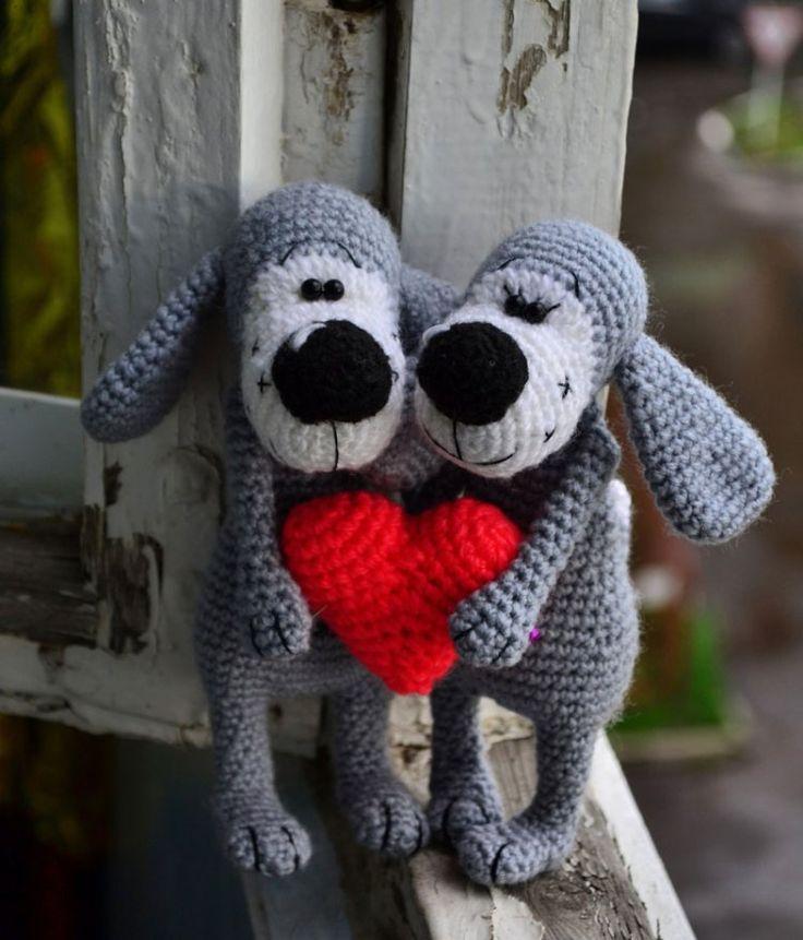 Boofle dog crochet pattern free Amigurumi Pinterest Dog crochet and Cro...