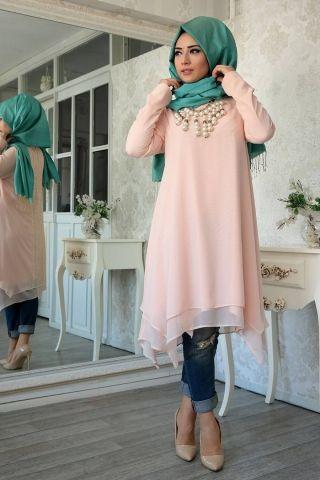 Hijab style tunic