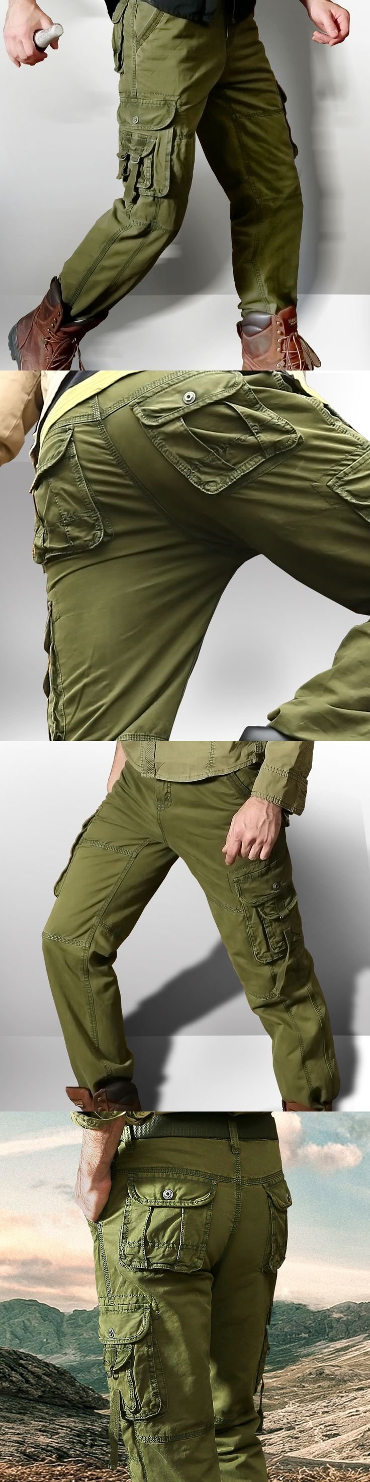 Militar Tactical Cargo Pants Men Combat Army Green Train Military Pants Casual Cotton Paintball  Trouser  Men Workout Pants