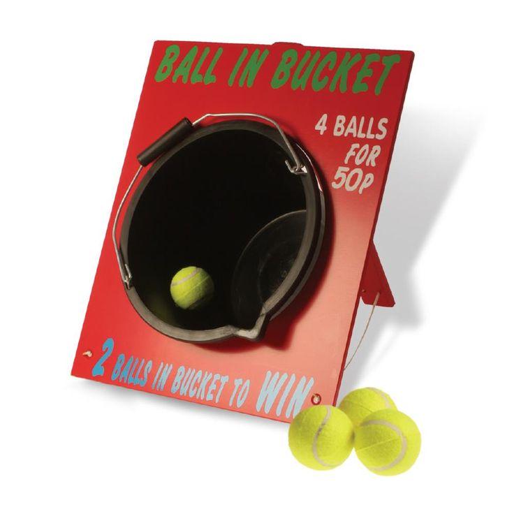 Ball in Bucket Game   Peeks