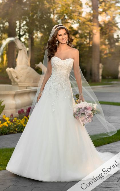 Wedding Dresses - Lace Wedding Dress from Stella York - Style 5959