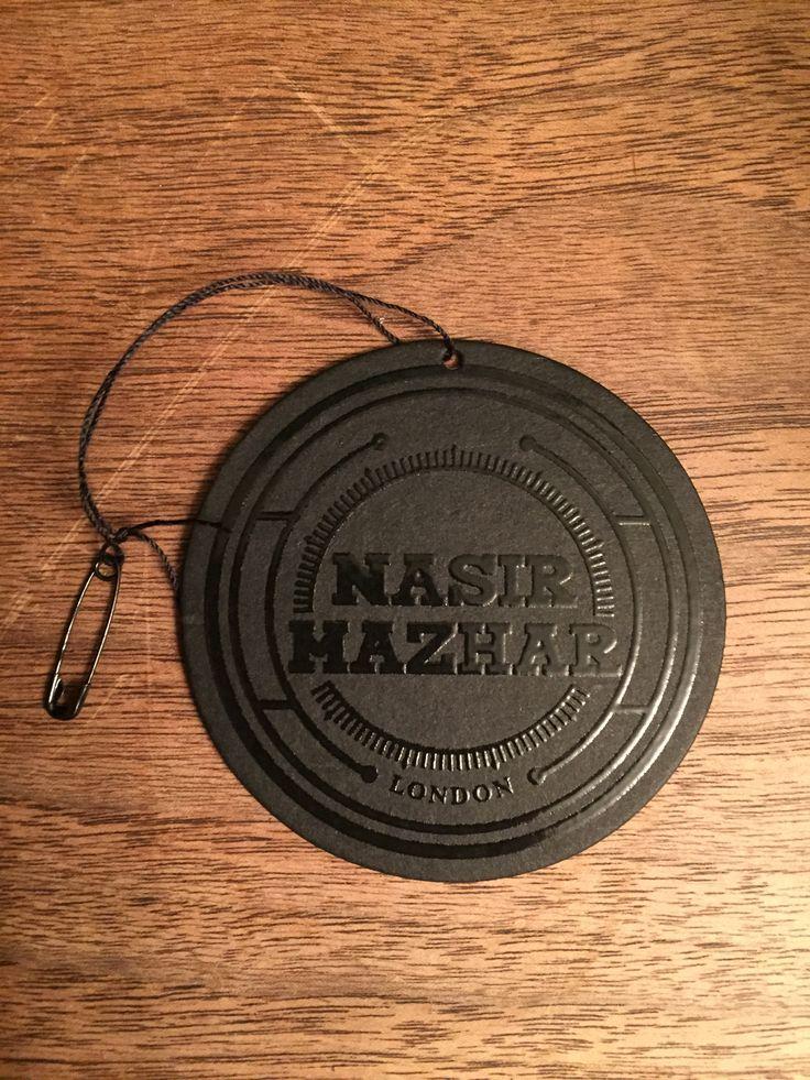 Nasir Hazhar #hangtag