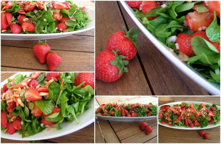 Verdens bedste jordbærsalat