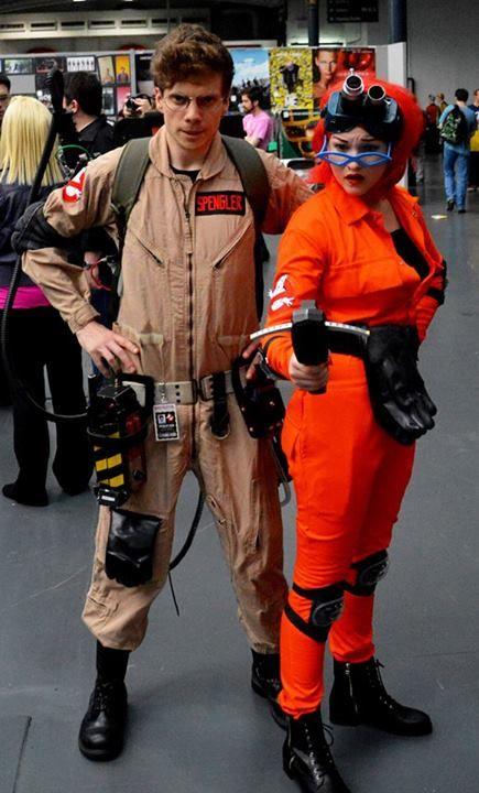 fantastic Egon Spengler  Janine Melnitz cosplay