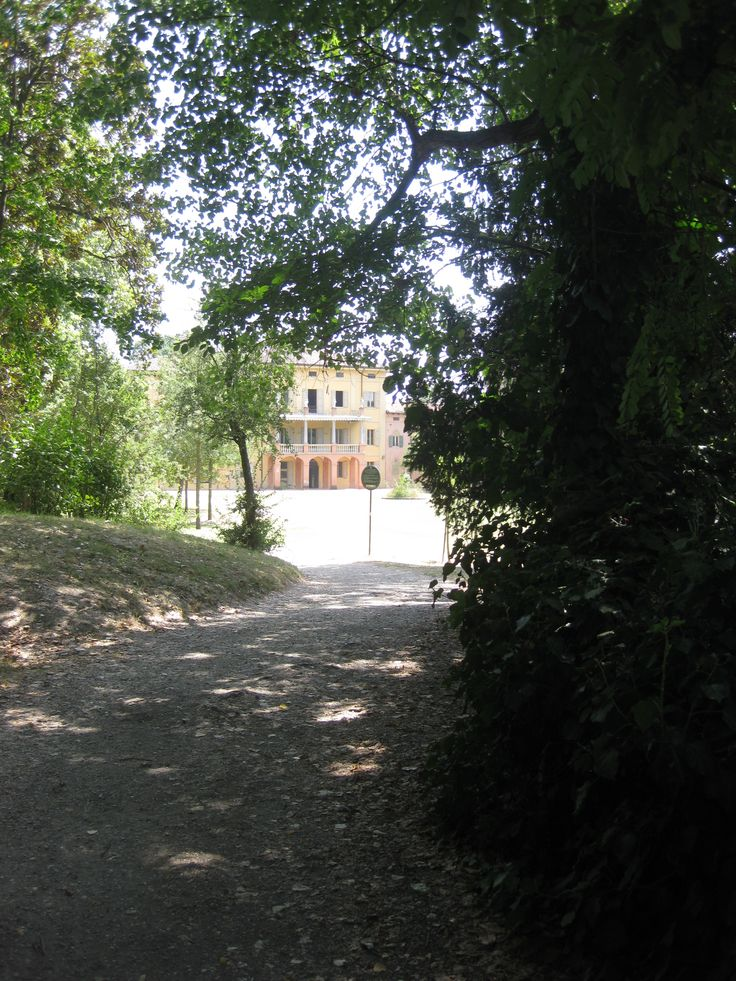 Il parco di Villa Smeraldi, Museo della civiltà contadina San Marino di Bentivoglio (BO) - I sentieri.