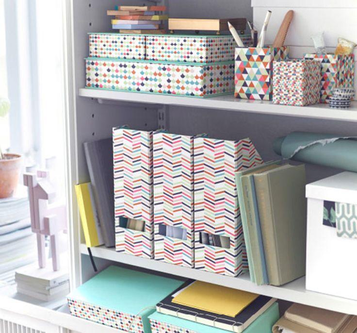 organiser les papiers qui s 39 accumulent rangement pinterest ikea deco d sordre et chaque jour. Black Bedroom Furniture Sets. Home Design Ideas
