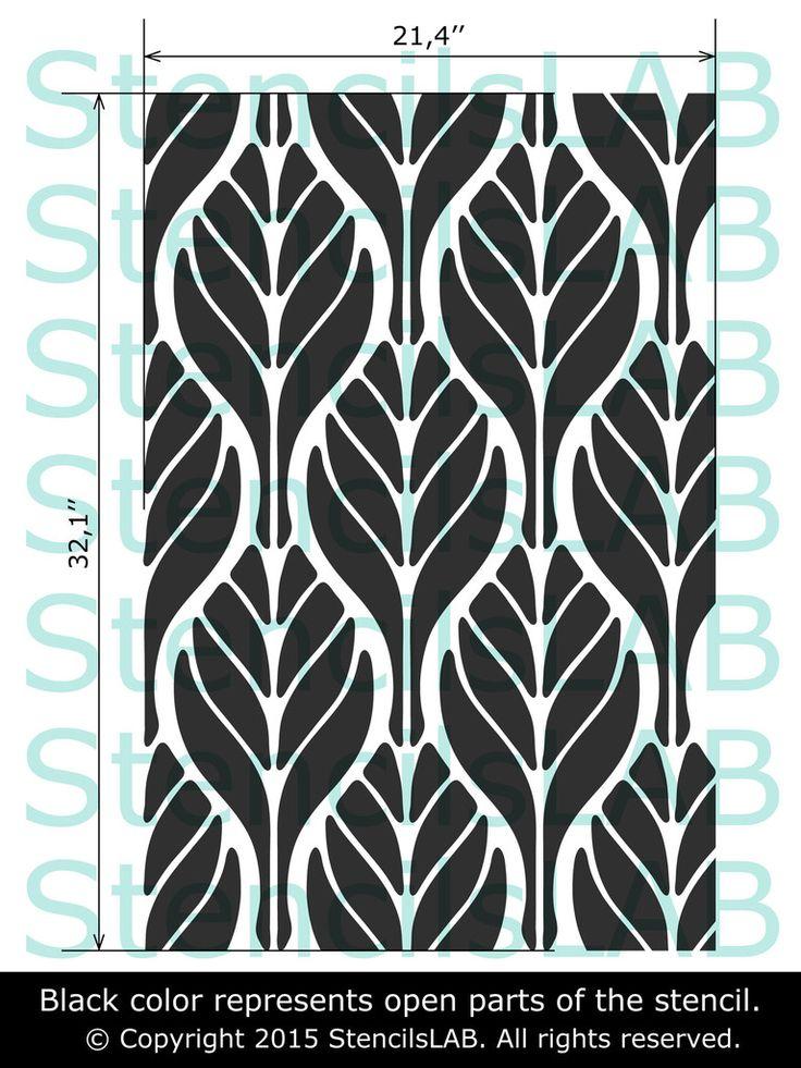 Geometric Flower Stencils : Best geometric stencil ideas on pinterest wall