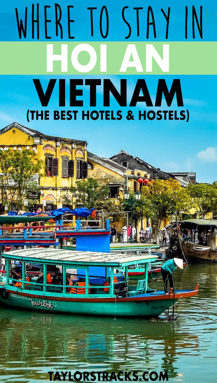A trip to Vietnam is not complete without a stop in Hoi An! Make sure you check out this incredible city and find the best places to stay in Hoi An on any budget from hostels to luxury beach resorts. #vietnam ****** Where to stay in Hoi An | Places to stay in Hoi An | Hoi An hotels | Hoi An hotel resorts | Hoi An hostel | Where to stay in Vietnam | Places to stay in Vietnam | Southeast Asia travel | Southeast Asia destinations | Vietnam travel | Vietnam destinations | Vietnam places to visit