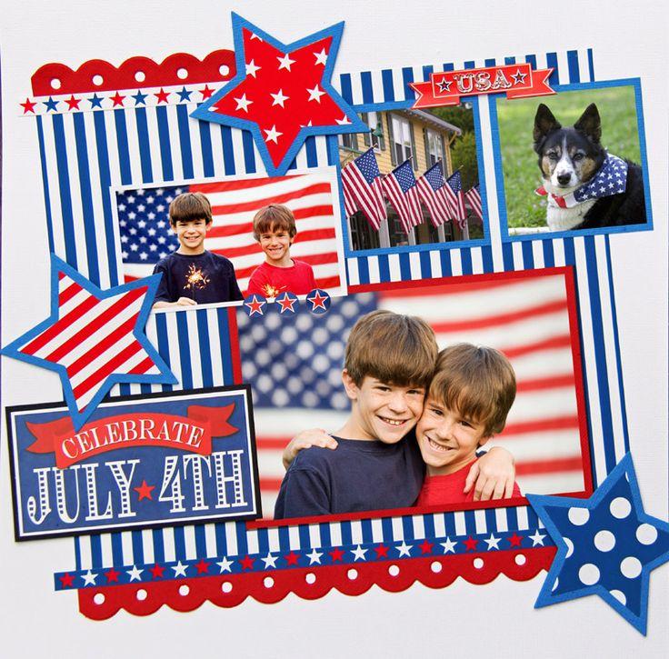 Celebrate 4th of July - Scrapbook.com
