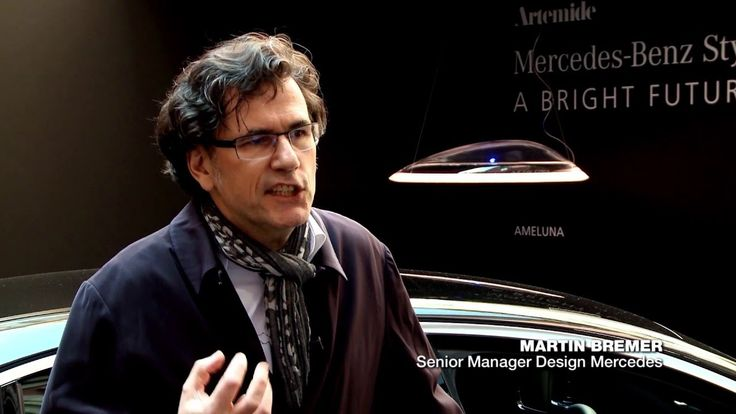 [VIDEO] Mr. Martin Bremer, Senior Manager Design of Mercedes-Benz and Carlotta de Bevilacqua, Vice President of Artemide talk about the #Ameluna suspension.