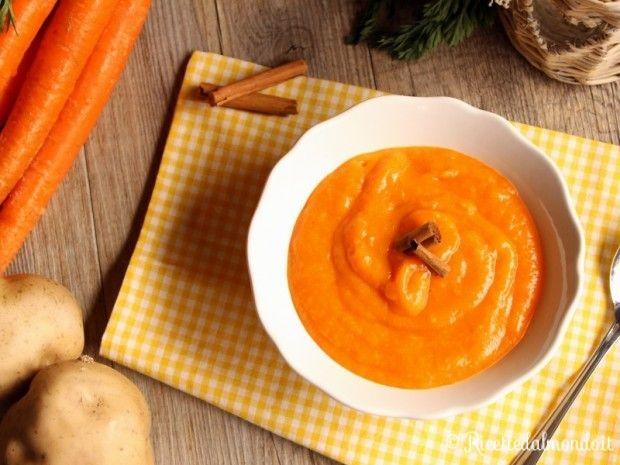 Vellutata di Carote  Buona e semplice, ideale in inverno come tutto l'anno! http://bit.ly/vellutata-di-carote