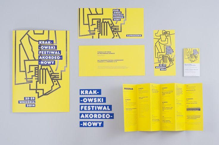 II Krakowski Festiwal Akordeonowy – identyfikacja wizualna