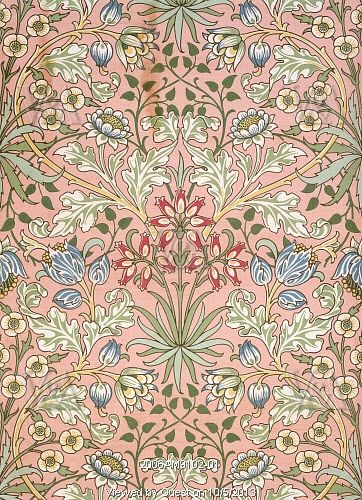 William Morris. Inglaterra, siglo 19