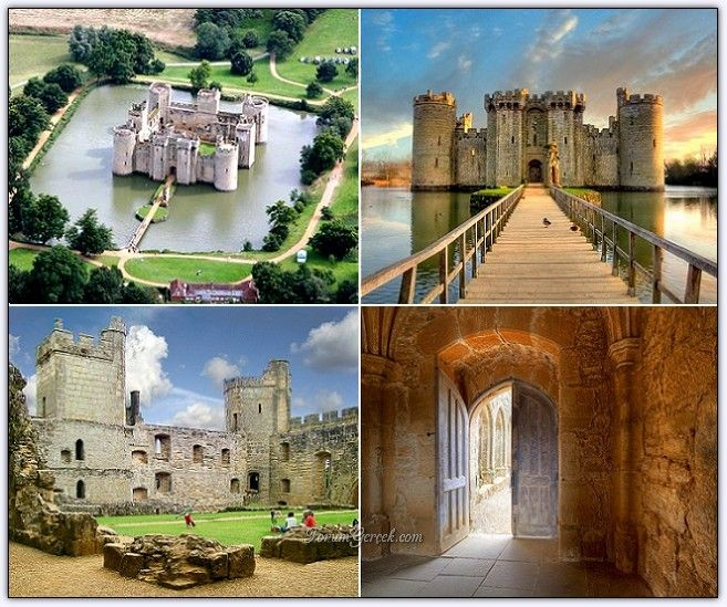 Bodiam Kalesi'nin Tarihi ve Mimarisi (İngiltere) - Forum Gerçek