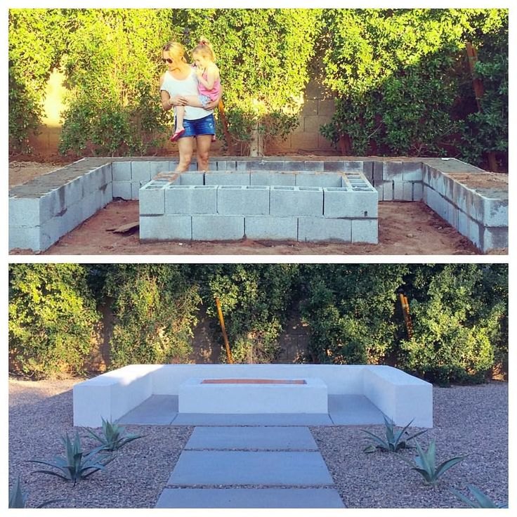 A little fire pit before and after for you. Since Mr. 1960 isn't taken yet...I'm thinking I better bring my three littles over to make sure…