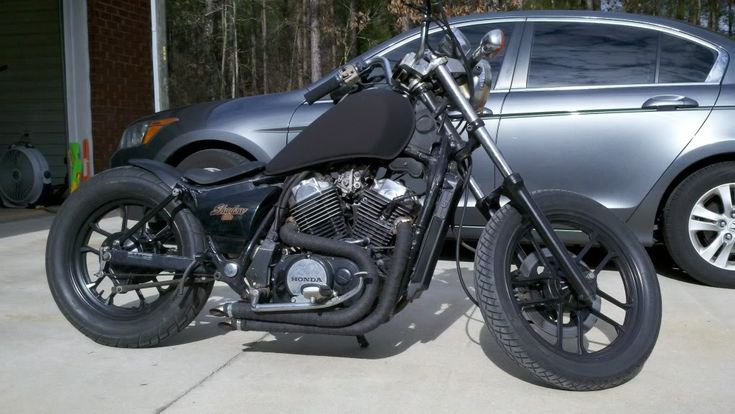 Bobber boys what you running for rear fenders?? - Honda Shadow Forums : Shadow Motorcycle Forum