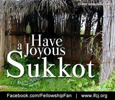 Happy #Sukkot! Feast of Tabernacles