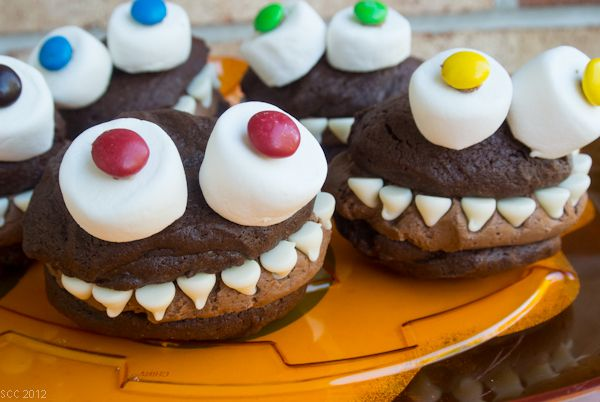Monster Whoopie Pies. These are just awesome!!
