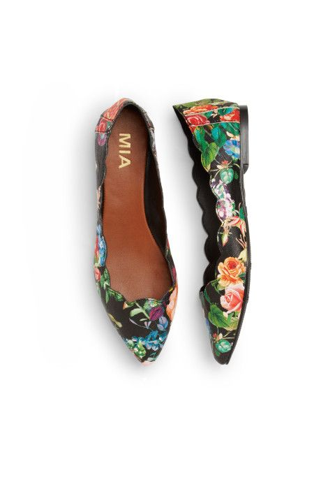 Stitch Fix Spring Shoes: Floral Flats