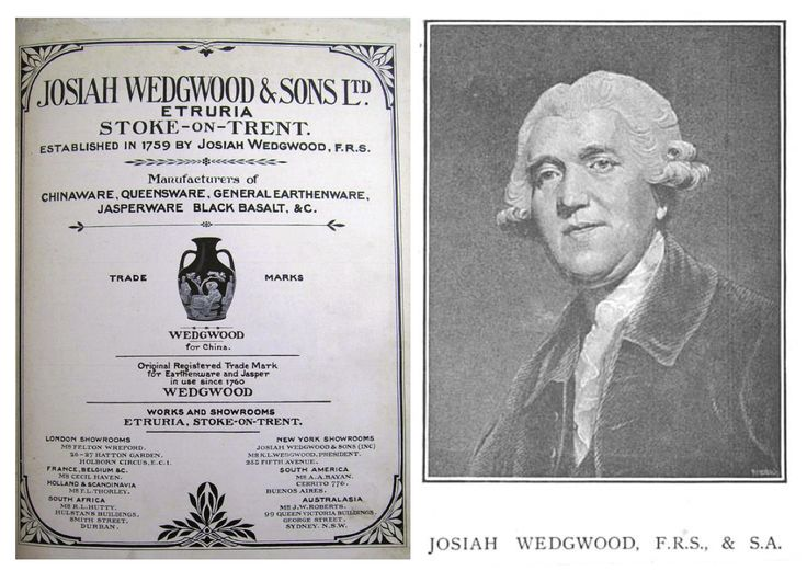 why was josiah wedgewood so successful One of the most distinct of josiah wedgwood's designs is  update your bookmark and rss feed for the stand to reason blog  he became a very successful .