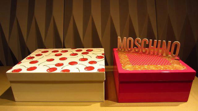 #icona boxes, by @Moschino for #altreforme, #arlecchino collection at Salone del Mobile 2012 #interior #home #decor #homedecor #furniture #aluminium
