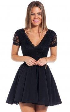 Love Affair dress in black Showpo