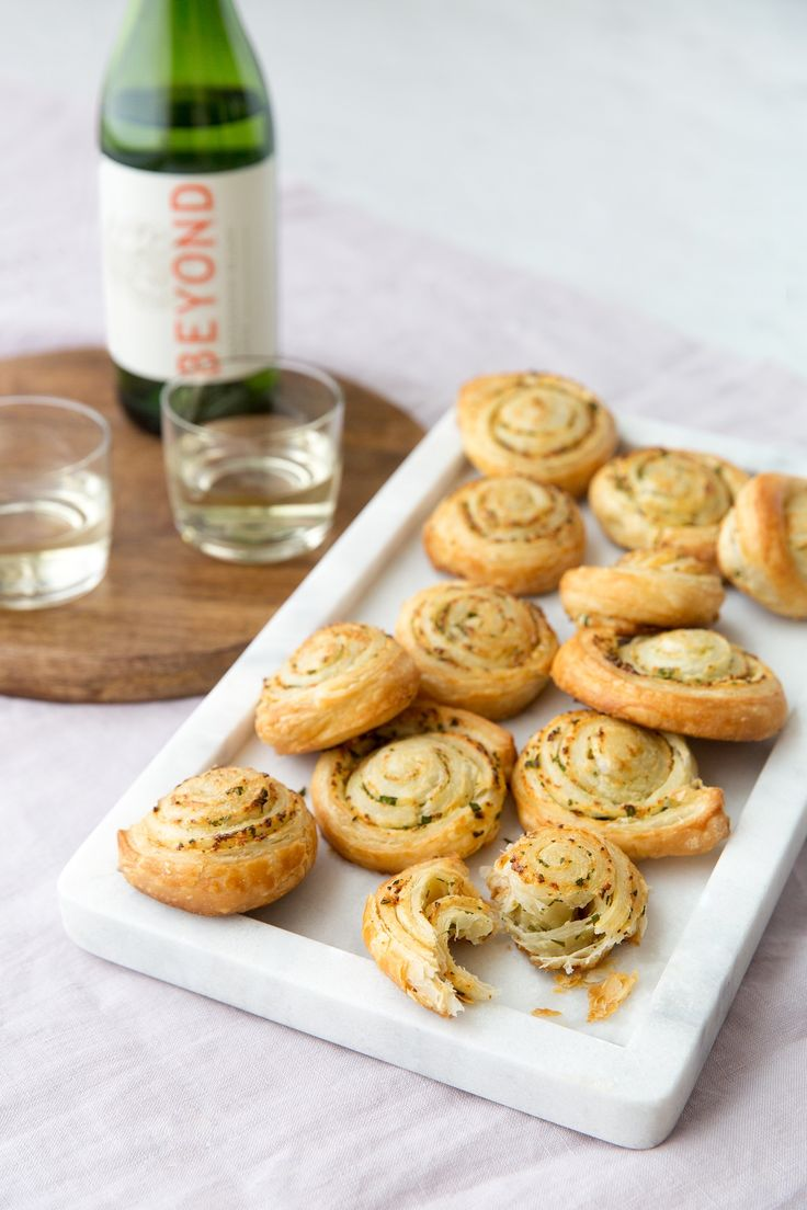 These buttery, flaky pinwheels bake in just the amount of time it takes to pop open a bottle of wine.
