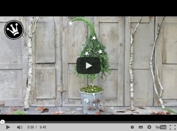 Weihnachtsbaum mit spitzer Kappe aus Naturmaterial! … Ich mache …