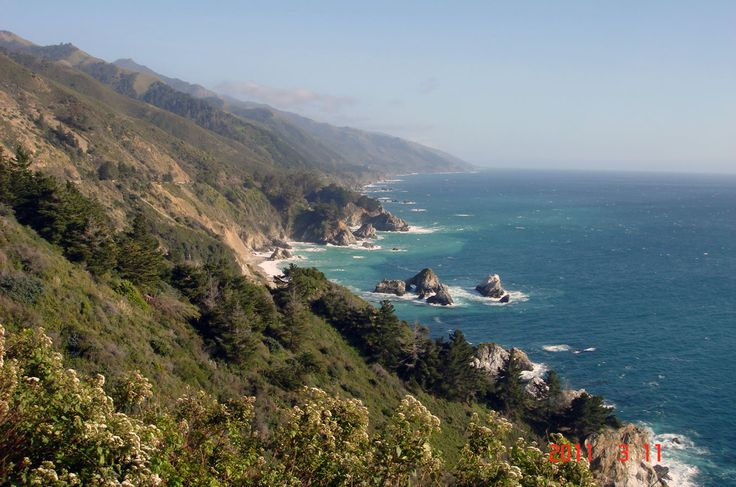 My trip up the Pacific Coast Highway