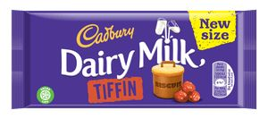Exciting Chocolate News  After a limited edition summer run last year Cadbury Dairy Milk is bringing back a classic favourite Cadbury Dairy Milk Tiffin.  In stores from August 2017 the new generously sized 200g bar (previously 95g) combines the delicious tastes and textures of crunchy biscuit and dried grapes smothered in Cadbury Dairy Milk for the whole family to enjoy.  Cadbury Dairy Milk Tiffin After its debut in the UK over a decade ago Cadbury Dairy Milk Tiffin is being brought back to…