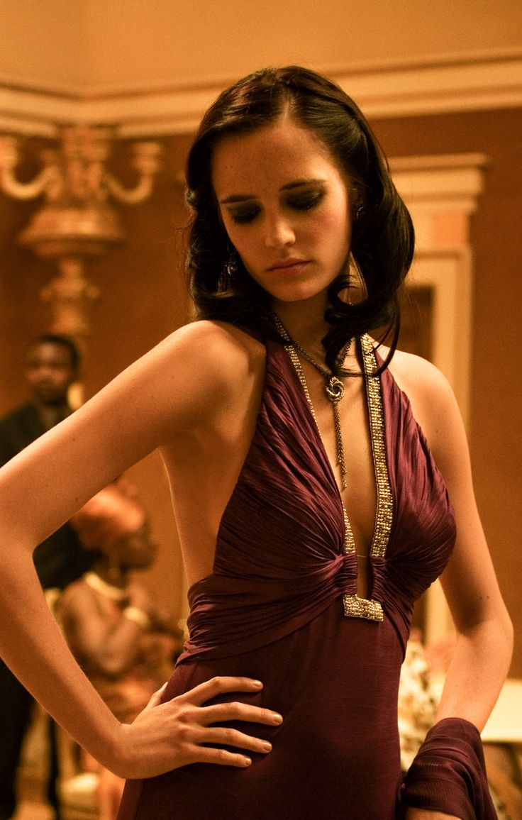 Film Hall, Eva Green  on the set of  Casino Royale